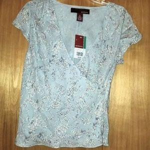 Merona silk vintage blouse